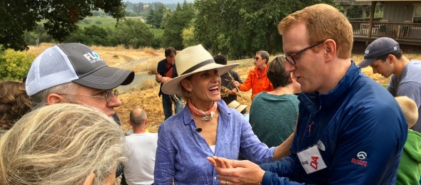 Doug Aley and EDR harvest 2016
